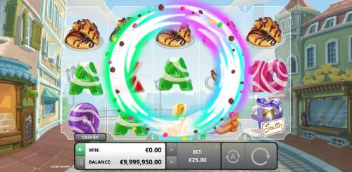 Lucky Bakery Review Slots Shuffle Feature Activated