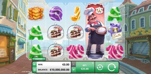 Lucky Bakery Review Slots Main Game Board