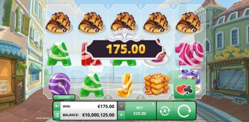 Lucky Bakery Review Slots Shuffle feature leads to a winning five of a kind