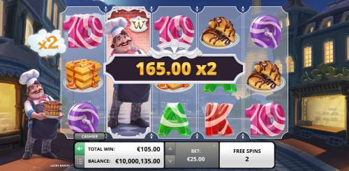 Lucky Bakery Review Slots Big win triggered