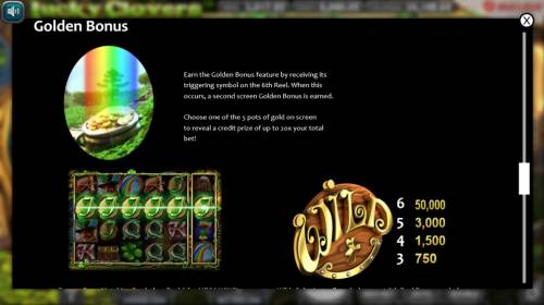 Lucky Clovers Review Slots Golden Bonus Rules