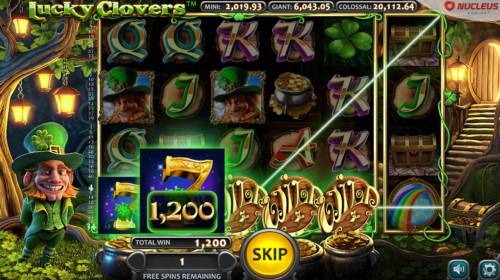 Lucky Clovers Review Slots A winning Five of a Kind