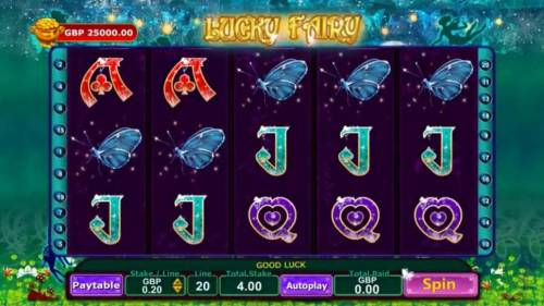 Lucky Fairy review on Review Slots