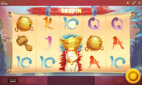 Lucky Fortune Cat Review Slots Landing a Fortune Cat symbol anywhere on the middle reel triggers a respin.