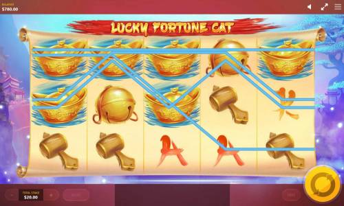 Lucky Fortune Cat Review Slots Multiple winning paylines triggers a big win!