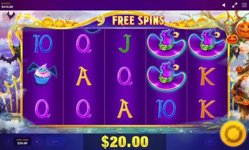 Lucky Halloween Review Slots Free Spins Game Board