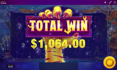 Lucky Halloween Review Slots Free Spins pays out atotal of 1,064.00