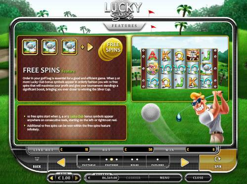 Lucky Swing Review Slots Free Spins Feature Rules