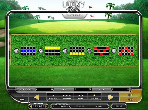 Lucky Swing Review Slots Paylines 1-5