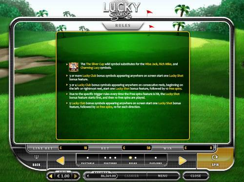 Lucky Swing Review Slots General Game Rules