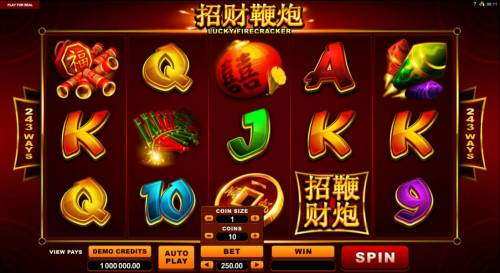 Lucky Firecracker review on Review Slots