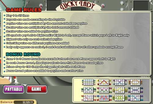 Lucky Lady Review Slots