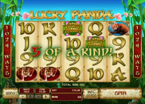 Lucky Panda review on Review Slots