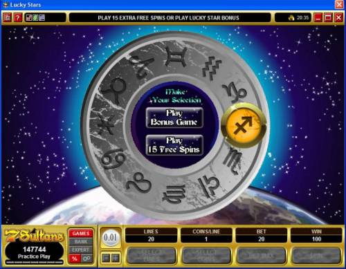 Lucky Stars review on Review Slots