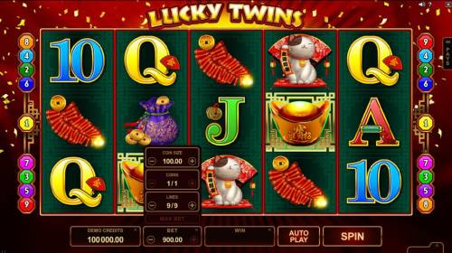 Lucky Twins review on Review Slots
