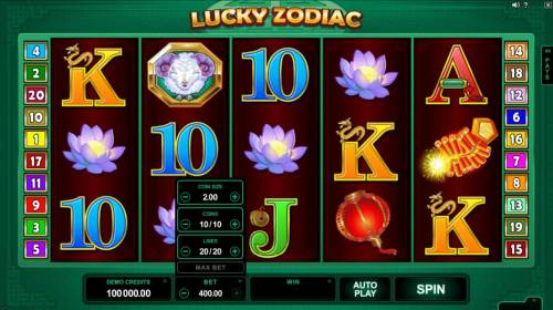 Lucky Zodiac review on Review Slots