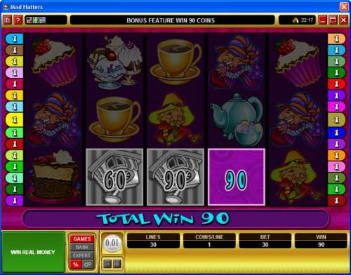 Mad Hatters review on Review Slots