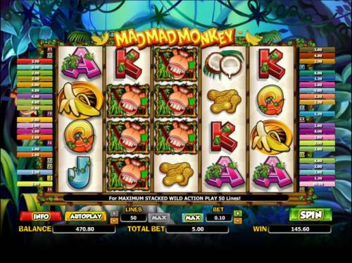 Mad Mad Monkey review on Review Slots