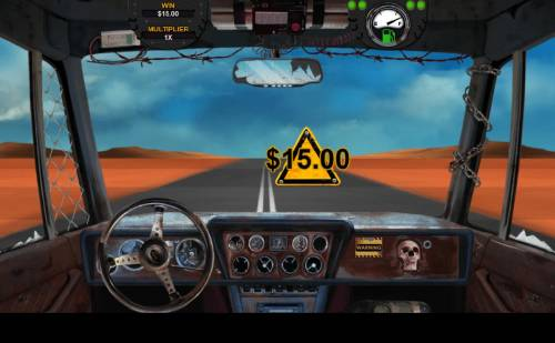 Mad Road Review Slots Selecting caution sighns will reveal a prize award of cash or fuel.