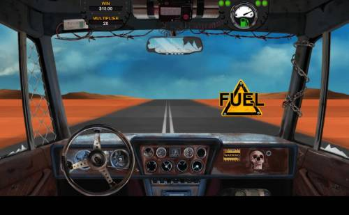 Mad Road Review Slots Selecting a fuel prize will keep you going farther during the Bonus Round.