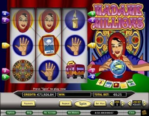 Madame Millions review on Review Slots