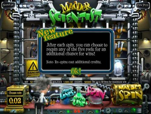 Madder Scientist review on Review Slots