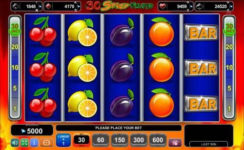 Magic Castle Review Slots Main game board featuring five reels and 40 paylines with a $250,000 max payout.