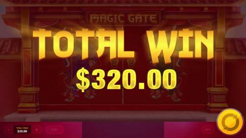Magic Gate Review Slots Golden Bell feature pays out a total of 320.00