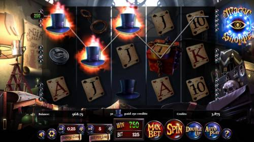 Magic Shoppe review on Review Slots