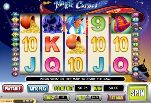 Magic Carpet review on Review Slots