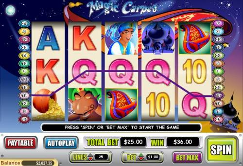 Magic Carpet Review Slots