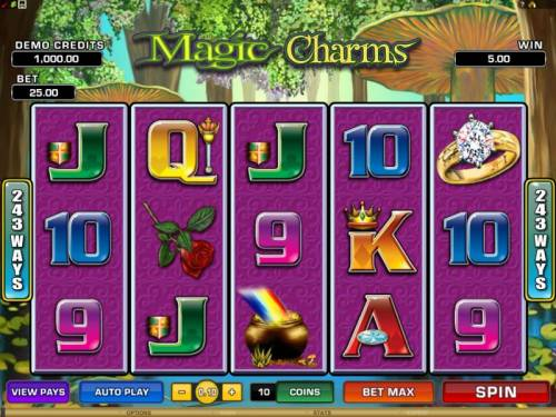 Magic Charms review on Review Slots