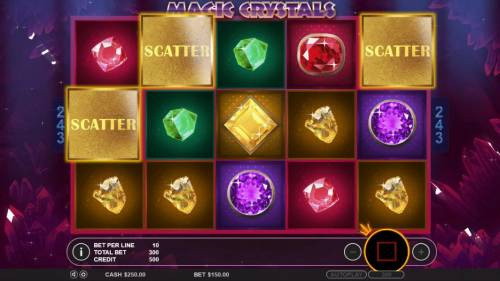 Magic Crystals review on Review Slots