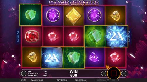 Magic Crystals Review Slots Another awesome win triggered by wild 2x multipliers