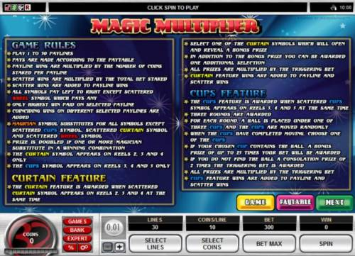 Magic Multiplier review on Review Slots