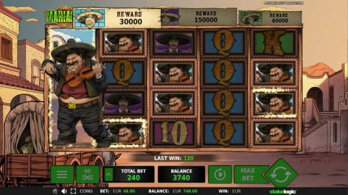 Mariachi Review Slots Reels will respin until no more matching symbols appear on the reels