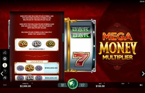 Mega Money Multiplier review on Review Slots