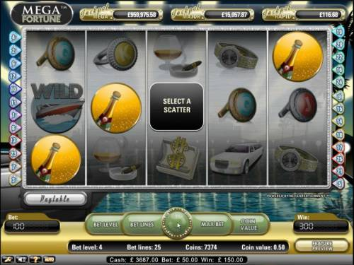 Mega Fortune Review Slots Mega Fortune Slot Game scatter bonus triggered