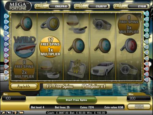 Mega Fortune Review Slots Mega Fortune Slot Game scatter bonus pays out 17 free spins