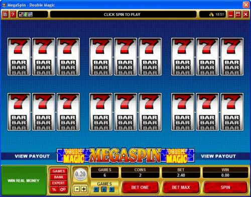MegaSpin - Double Magic review on Review Slots