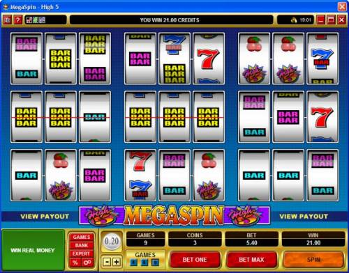 MegaSpin - High 5 review on Review Slots