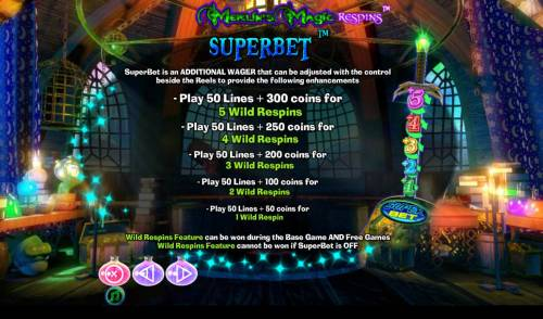 Merlin's Magic Respins review on Review Slots