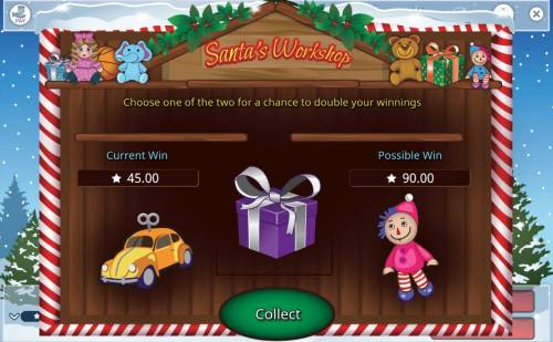 Merry Spinning Review Slots Gamble Feature Game Board