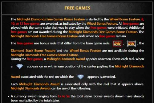 Midnight Diamonds review on Review Slots