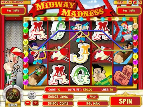 Midway Madness review on Review Slots