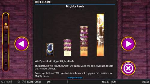Mighty Black Knight review on Review Slots