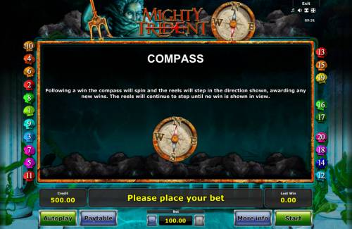 Mighty Trident Review Slots Feature Rules