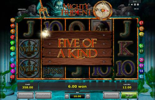 Mighty Trident Review Slots Five of a Kind