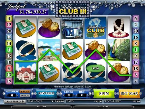 Millionaires Club III review on Review Slots