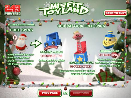 Misfit Toyland review on Review Slots